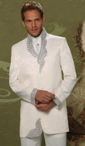 blanc chic de mariage soir e costume homme diable chemise pour dickey avec broche. Black Bedroom Furniture Sets. Home Design Ideas