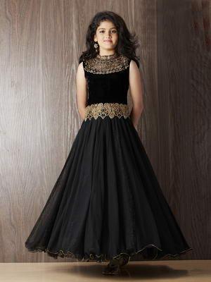 0f8da71e272a0 Noir longue robe «dans le sol»