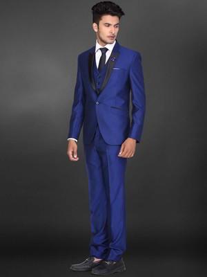 Bianca Un Maschile Con Blu Cravatta Triscon GiubbottoCamicia kwX80OnP