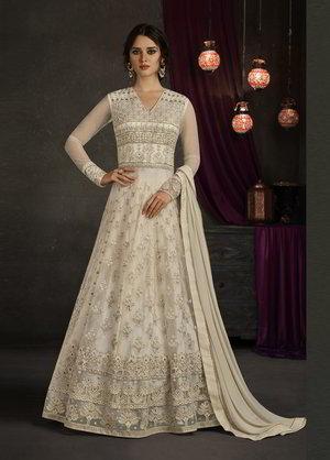 eea5f69b79 Biała suknia ślubna suknia w podłogę
