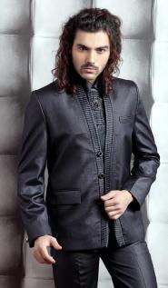 Мужской костюм цвета айвори 4