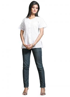 Короткая блузка