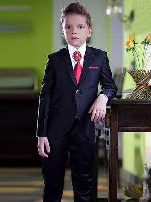 Чёрный галстук на свадьбу