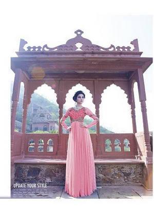 длинное красное свадебное платье в